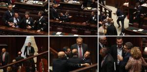 Il deputato Buonanno espone il finocchio e poi scappa via mostrando il culo.... era un invito?