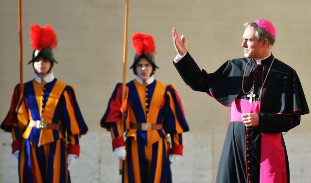 Il Papa incontra il Principe di Monaco e la principessa Charlene