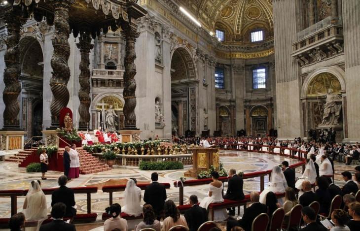 papa francesco matrimonio1