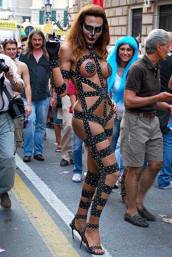 trans e gay pride