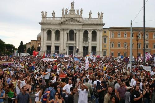 piazza san giovanni 2016
