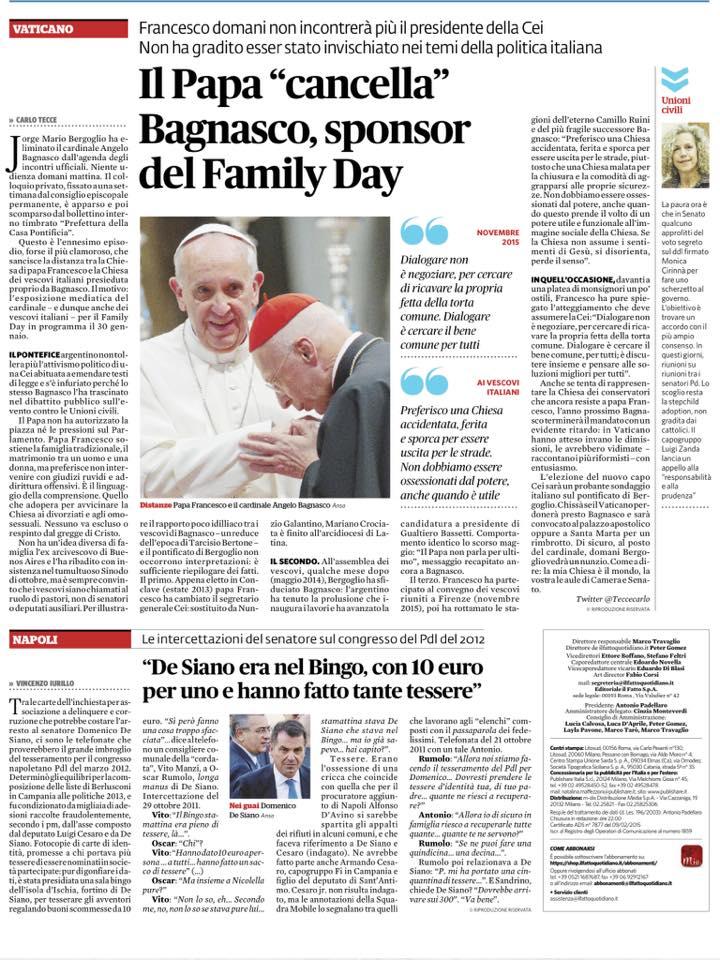 papa francesco bagnasco 1