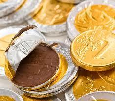 monete cioccolato