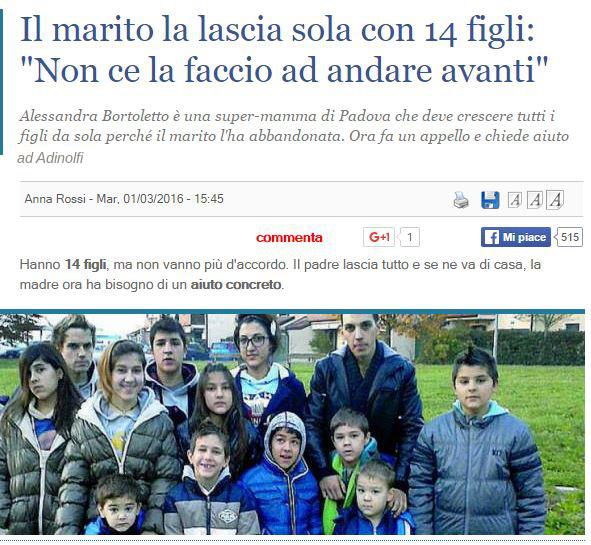 14  figli